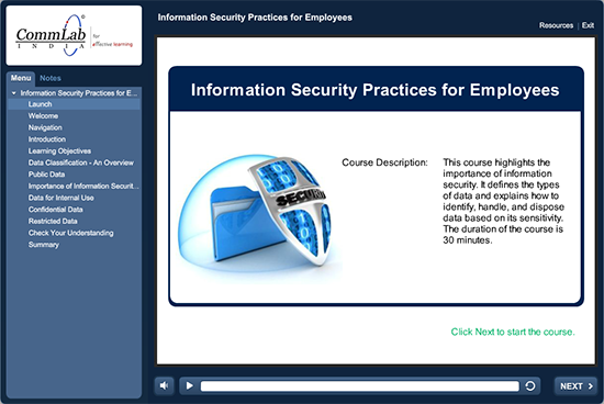 Information Security Practices Training