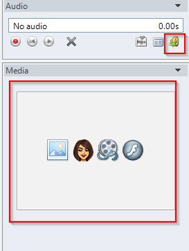 import Image/Character/Flash/Video to the interaction