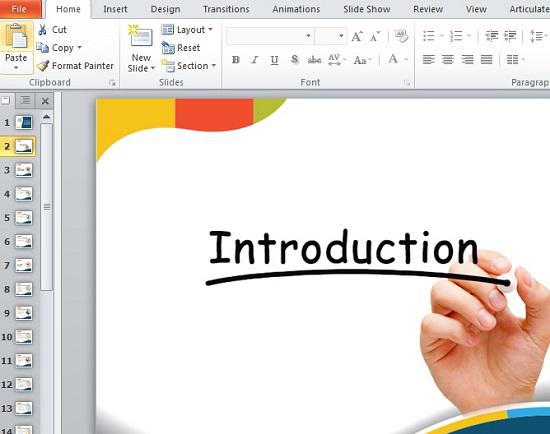 Add Modifled Slides