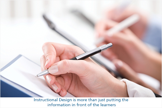 what is instructional design all about?