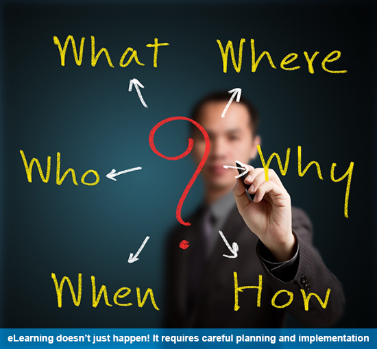 Failure to identify your real client, the learner