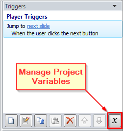 Manage Project Variables