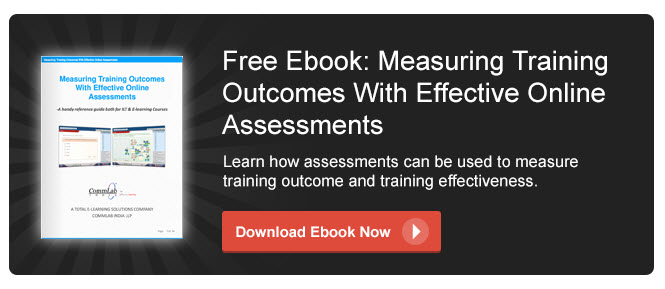View eBook on Measuring Training Outcomes with Effective Online Assessments