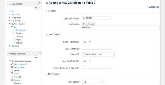 Adding new Certificate