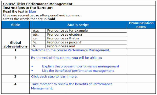 course outline template word
