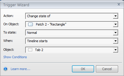 Trigger for patch2
