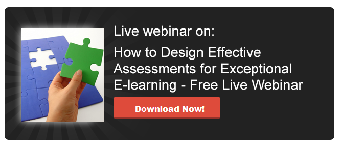 View Webinar on How to Design Effective Assessments for Exceptional E-learning