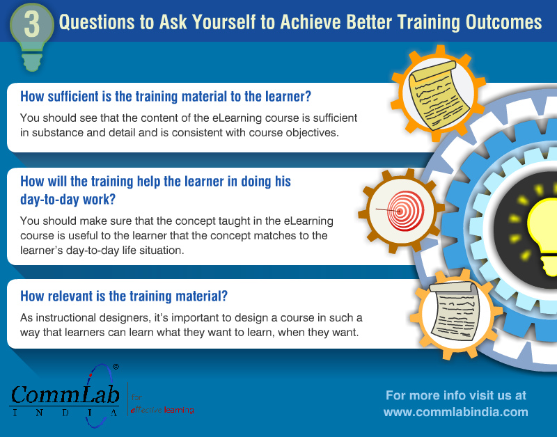 3 Tips to Achieve Better Training Outcomes – An Infographic