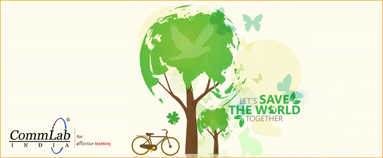 Celebrating the Earth Day with E-learning, the Green Learning Format
