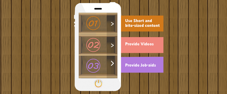 Content Design for Mobile Learning