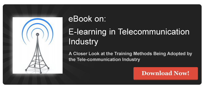 View eBook on E-learning in Tele-Communication Industry