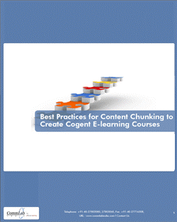 Best Practices for Content Chunking to Create Cogent E-learning Courses