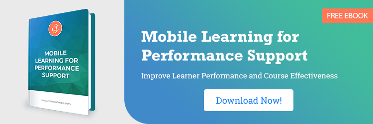 Mobile Learning for Performance Support