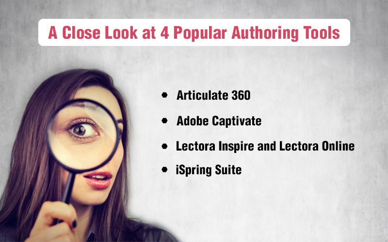 Authoring Tools Decoded – A Review of 4 Top Tools