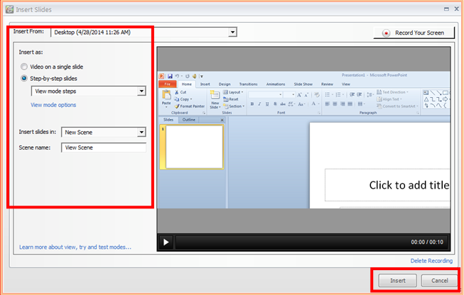 Fine-tuning Screen Simulations in Articulate Storyline