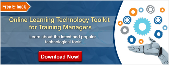 View eBook on Online Learning Technology Toolkit for Training Managers