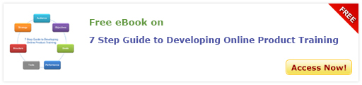 View eBook on 7 Step Guide to Develop Online Product Training Course