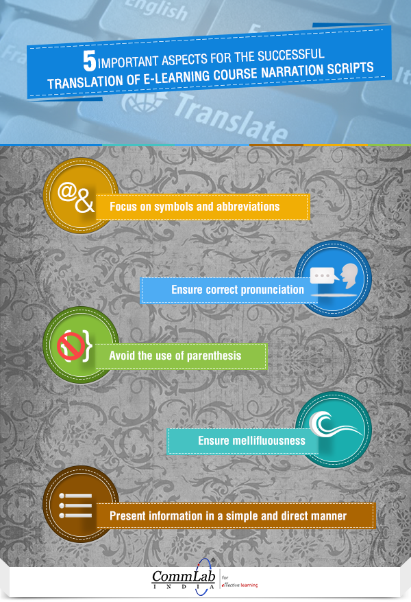 Translating Narrations in Online Courses: 5 Aspects to Consider [Infographic]