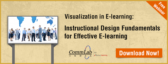 View Webinar on Visualization in E-learning: Instructional Design Fundamentals for Effective E-learning