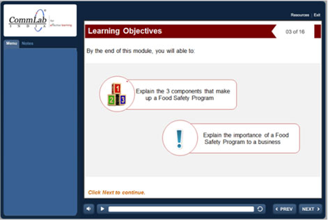 Instructional and Visual Components in Online Safety Training Courses