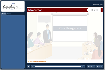E-learning on Incident Reporting