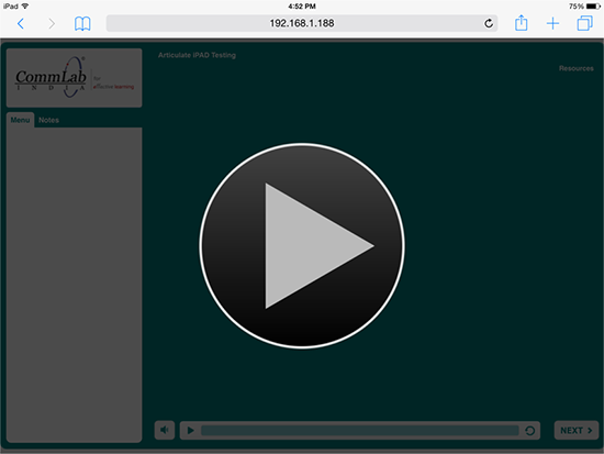 HTML5 output audio-video