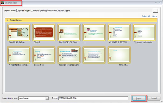 convert articulate storyline to pdf