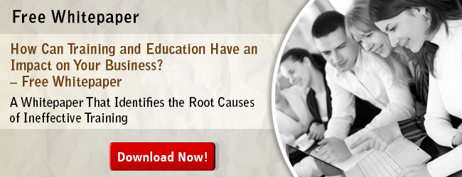 View Whitepaper on How Can Training and Education Have an Impact on Your Business?
