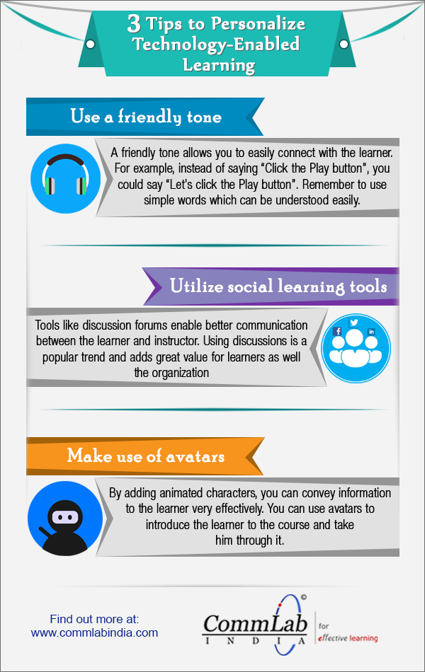 Online Training Design: Personalizing Your E-learning Course [Infographic]