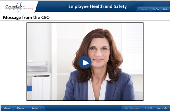 Video to deliver CEO's message