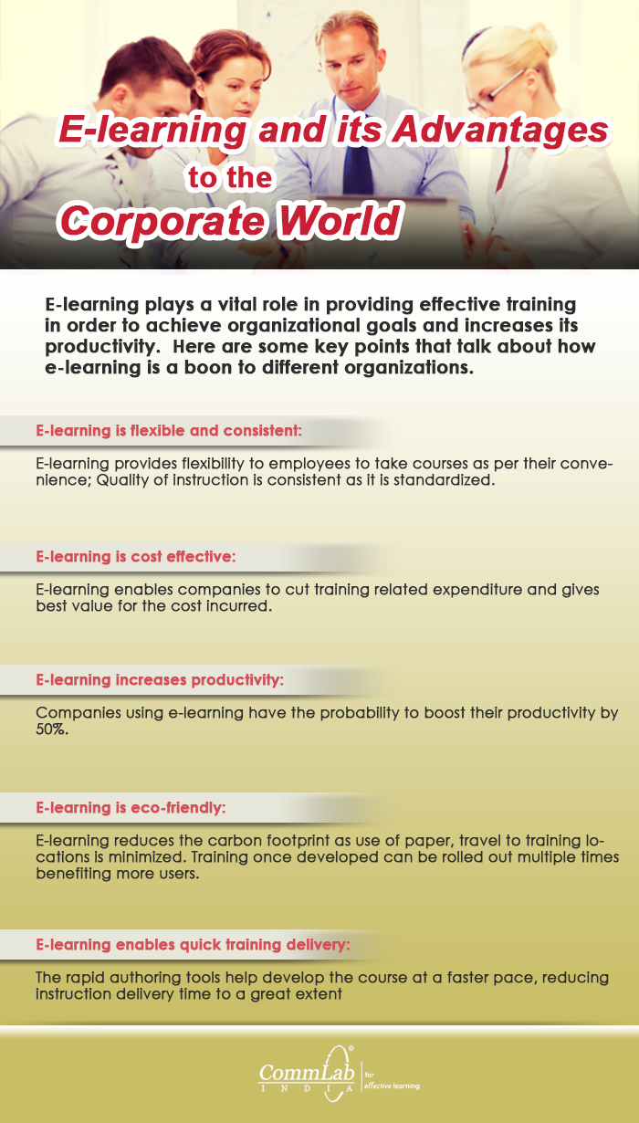 What Makes E-learning the Choice of the Corporate Training World [Infographic]