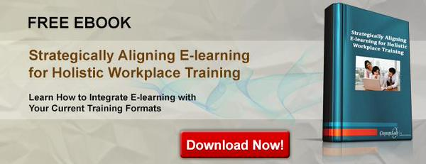 View eBook on Strategically Aligning E-learning for Holistic Workplace Training
