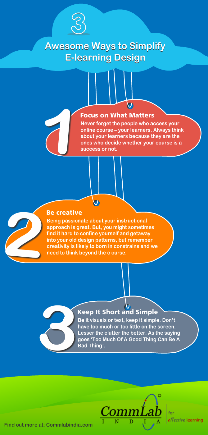 E-learning Design: 3 Tips to Delight Your Learners [Infographic]