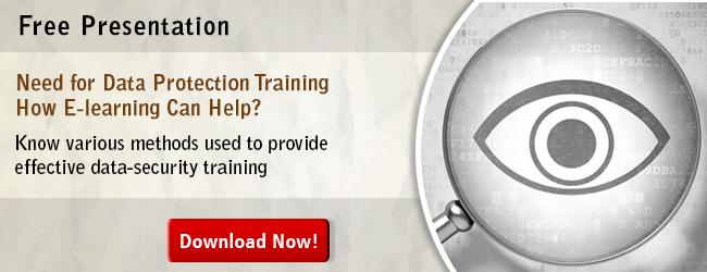 View eBook on Need for Data Protection Training - How E-learning Can Help?