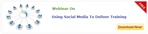View Webinar on Using Social Media to Deliver Training