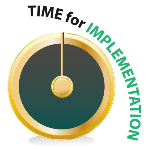 Time for implementation