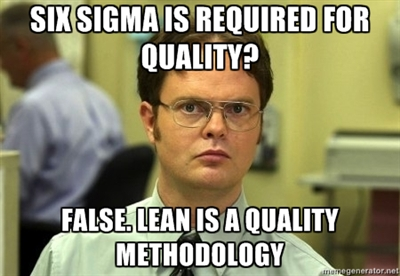 Online course on Lean Six Sigma
