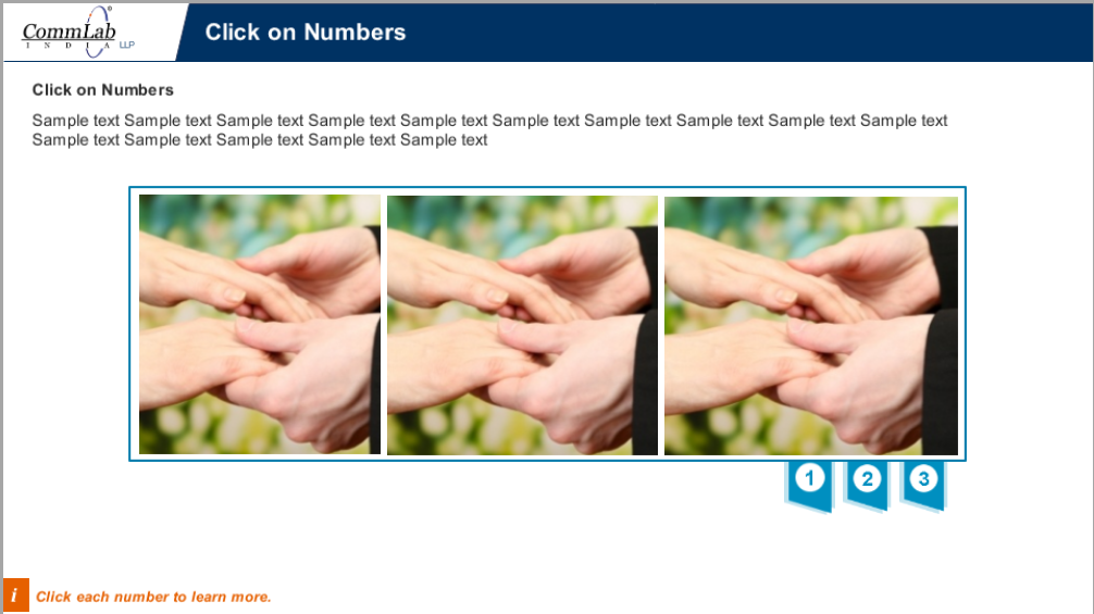 Click-on-numbers