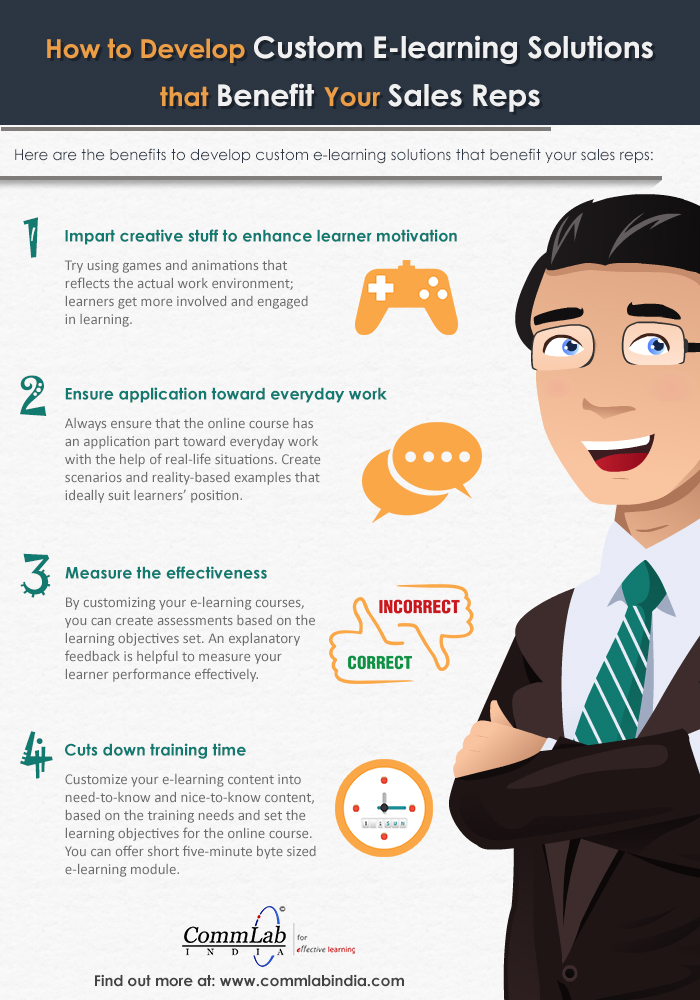 Developing Effective Custom-Built E-learning Courses for Your Sales Team [Infographic]