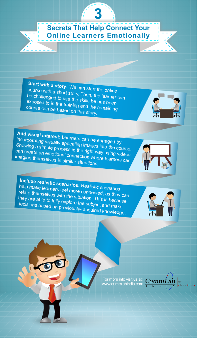 3 Proven Tips to Engage The Online Learners [Infographic]