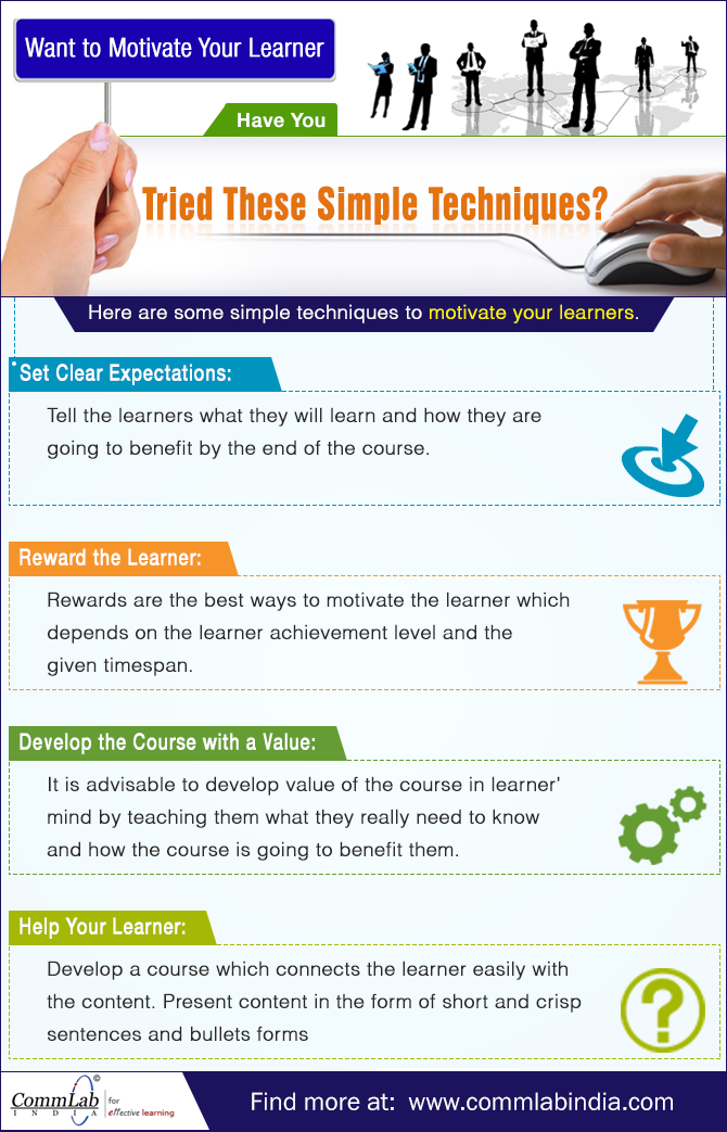 How to Motivate Your Learners to Take Up Online Training? [Infographic]