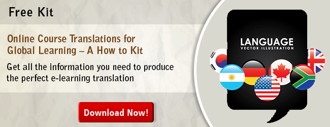 View Kit on Online Course Translations for Global Learning