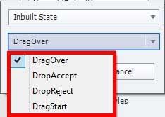 Drop source