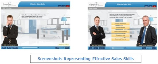 Incorporated in an e-learning course