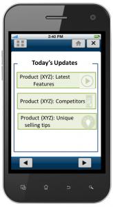 Provides continuous updates