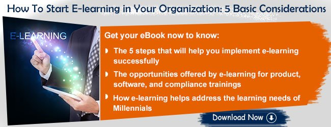View eBook on How To Start E-learning in Your Organization: 5 Basic Considerations
