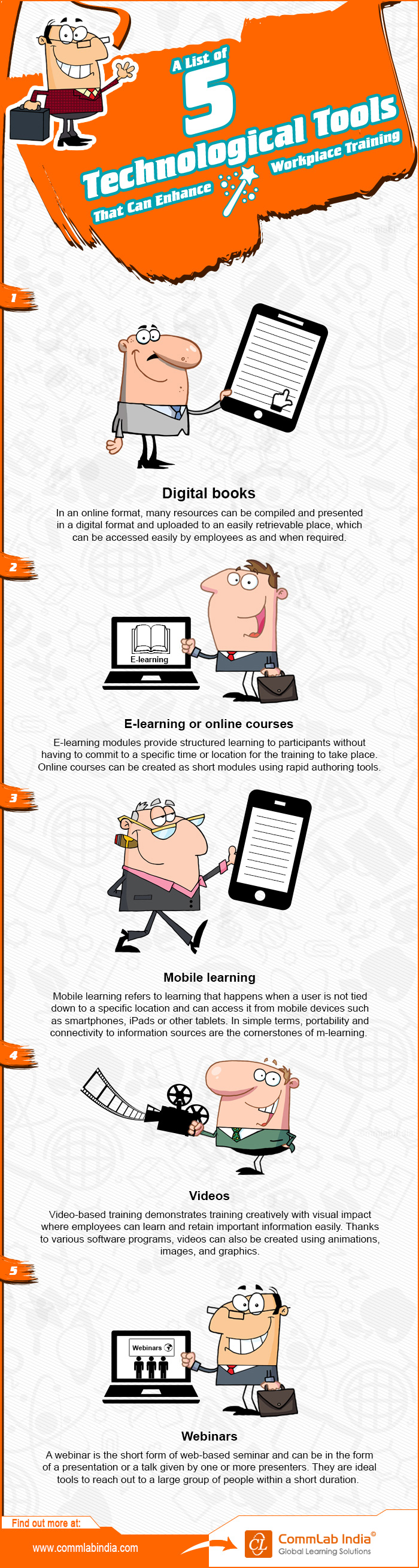 5 Technological Tools to Enhance Your Workplace Training [Infographic]