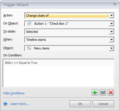 Step 8 - Trigger 1