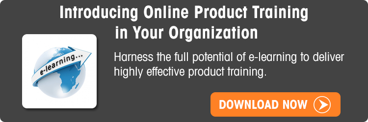 View the eBook Introducing Online Product Training in Your Organization