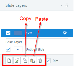 Copy, Paste Layers